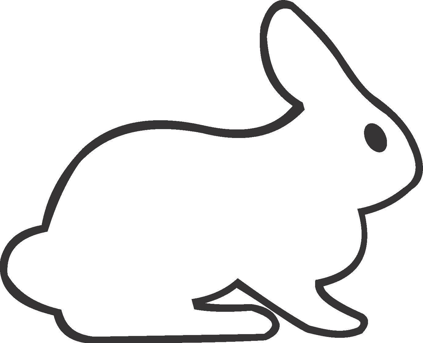 Color book rabbit - Rabbit